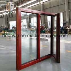 15 지도 Days Double Glazed Large House Solid Wood Aluminium Windows와 Doors