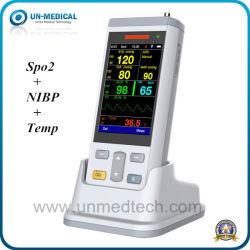 医学の獣医の供給の携帯用病院の大人の子供の新生児の手持ち型のパルスの酸化濃度計(PC100)