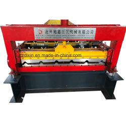 Dx Rib retráctil máquina de formação de rolos de folhas