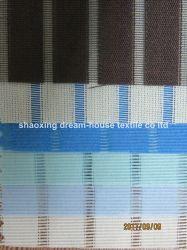 Stripy rodillo translúcida tela que cubre la ventana de China ciudad textil