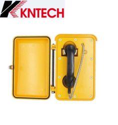 Koon el sistema de alarma de seguridad Teléfono Teléfono Sos Intercomunicación Industrial Knsp-03 Auto-Dial Teléfono de emergencia