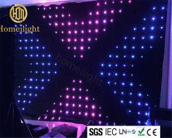 DJ 디스코 단계 배경을%s 3*3m P18 LED 화소 영상 커튼