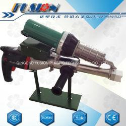 디지털 통제 Leister 열기 송풍기를 가진 플라스틱 용접 기계
