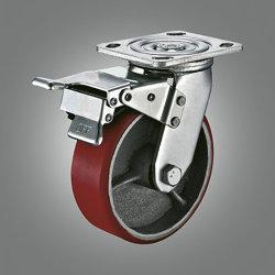 Для тяжелого режима работы чугунные Core самоустанавливающееся колесо