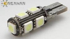 T10-5050 bombillas LED Auto con los colores de Sereal
