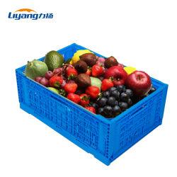 Manzana naranja fruta de plástico vegetal de cajas plegables cajas de plástico para la venta