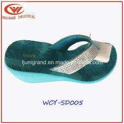 As mulheres de moda Sandálias de cunha da sapata de calçado para senhoras