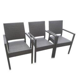 Мебель в саду наращиваемые обеденный плетеной стул (K01)