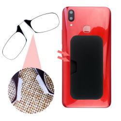 Teléfono móvil 2020 Gafas de lectura Los lectores de Fina pinza plegable en el Mini nariz gafas de lectura sin brazos con la punta de silicona antideslizante