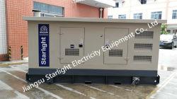300квт Auto Start Silent Doosan дизельного генератора 400/230V Номинальное напряжение