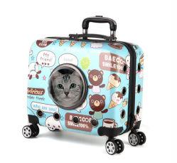 La corsa di rotolamento a ruote di svago del carrello Pets la cassa della casella del sacchetto del cane del gatto dei cani dei gatti (CY3529)