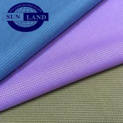 100% Funktions-Polyester-Bambusholzkohle-Sicherheitskreis-Gewebe für Sportkleidung