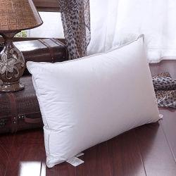 Super luxe confortable oreiller de remplissage en microfibre 100% coton tissu Shell