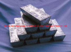 Salida de fábrica de lingotes de antimonio de alta calidad