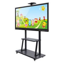 Schermo di tocco interattivo di 86 pollici TV astuta e visualizzazione elettronica di Whiteboard per la riunione