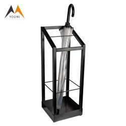 가장 새로운 금속 분리가능한 Foldable 까만 소매 우산 진열대