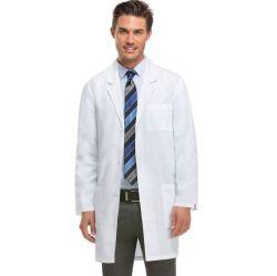 I servizi medici che medici bianchi dei vestiti del cappotto degli uomini delle donne il poliestere uniforme del Lungo-Manicotto dei vestiti dell'infermiera protegge il panno del cappotto del laboratorio fanno la vostra propria uniforme