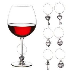 Vintage or verre de vin exquis Boucle de ceinture