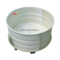 preço de fábrica de piscicultura de fibra de tanque de cultivo de aquário Aquários