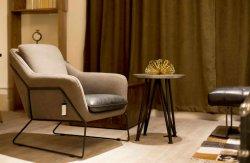 팔걸이를 가진 유럽, 미국 및 아시아를 위한 여가 금속 의자