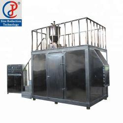 La congelación en nitrógeno líquido criogénico de plástico pulverizador Molino de Harina fresadora para PP Pet PVC PE
