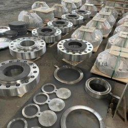 管付属品ASME B16.9 304Lのステンレス鋼か造られる炭素鋼A105または平たい箱またはスリップオンまたは開口部は溶接か盲目の/Weldingの首のフランジ重ね継ぎしたりまたはSoketの