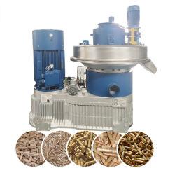 Yulong 1.5-2т/ч 132 квт риса шелухой установка для гранулирования энергии из биомассы