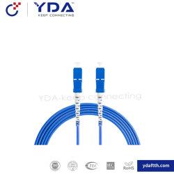 FTTH Vlecht/Patchcord van de Vezel van het Koord van het Flard van de Fabrikant Sc/FC/LC/St/Mu/E2000 de Optische Gepantserde
