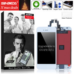 Sinbeda ЖК-дисплей для мобильного телефона iPhone 4/4s/5/5s/5c ЖК-экран и сенсорный экран в сборе дигитайзера