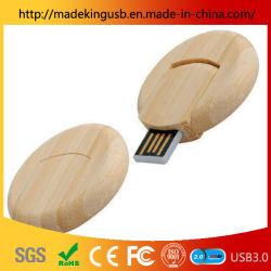 미니 라운드 우드 회전 U 디스크 사용자 지정 8G 16g 32g 64G 고급 선물 나무 USB 플래시 드라이브