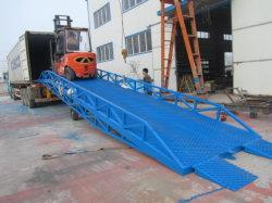 China /Mobile-Typ hydraulische Yard-Rampe mit 6 Tonnen-Dock-Planierern