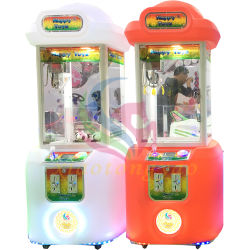 Beneficios alta Arcade Toy Claw grúa máquina de juego, en el interior de la garra de la grúa de juguete Prizing vending máquinas de juego