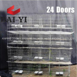 Дешевые коммерческих заяц земледелия клеток с приваренными