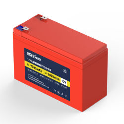 El Sr. Li 18650 Batería recargable 12V Cortacésped Batería 12V 9Ah completo pack de baterías de litio verdadero