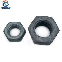 La norme ANSI/ASME UN194 2h B 18.2.2934 DIN ISO 4032, ANSI en acier inoxydable en acier au carbone HDG écrous hexagonaux de lourds écrous avec la vis