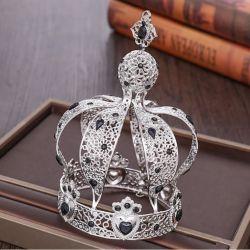 Completa el Círculo Europeo de la corona de diamantes de la moda Accesorios de Cabello hermoso