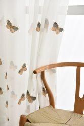 Удобный дом в стиле Арт Деко текстильной наилучшее качество оптовой полиэстер вышивка Voile шторки
