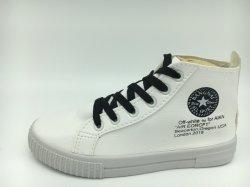 Señoras High Top Skate Stock zapatos con suela de inyección