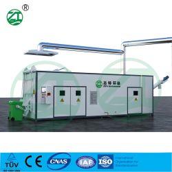 De Sterilisator van de Sterilisatie van de Stoom van de microgolf & de Apparatuur van de Ontvezelmachine voor Medisch Afval
