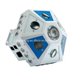 새로운 도착 Gobo, Laser 의 광속 스트로브 4in1 큰 육각형 LED 효력 점화