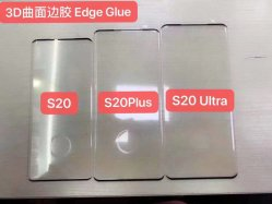 매우 충분히 구부려지는 3D 또는 직업 Samsung S20/S20 또는 주 10/Huawei P30 PRO/Mate 30 PRO/Oneplus 7t를 위한 가장자리 접착제 강화 유리