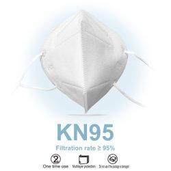 A fábrica Earloop Branco Respirador qualificada Nonwoven Boca cobrir os cuidados de segurança 5 camadas de protecção descartável públicos KN95 Máscara facial com certificações
