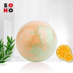 Sal marinho coloridos OEM embranquecimento apresentam / gasosas Bar Bombas Bola para venda