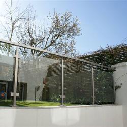 緩和されたガラスの手すり台地のガラス柵(PR-1013)