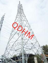 riga di trasmissione di 1000kv Uhv torretta d'acciaio del tubo della grata