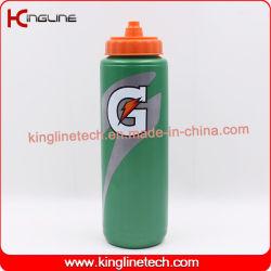 Plastiksport-Wasser-Flasche, Plastiksport-Wasser-Flasche, Plastikflasche des getränk-1000ml (KL-6122)