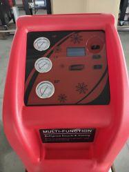 L'entretien auto recyclage de réfrigérant de climatisation R134A du système de charge