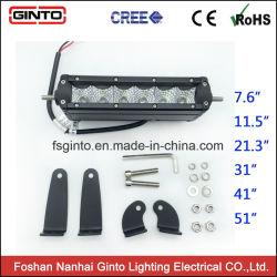 7.6inch slanke LEIDENE Lichte Staaf voor de DrijfKoplamp van de Auto/van de Motorfiets