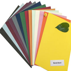 150GSM A4 couleur multi couleurs Manille Paper Board