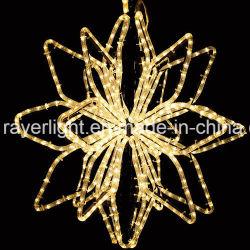 Neue sternenklare Lichter des Seil-Weihnachtsbaum-Deckel-Licht-Stern-LED